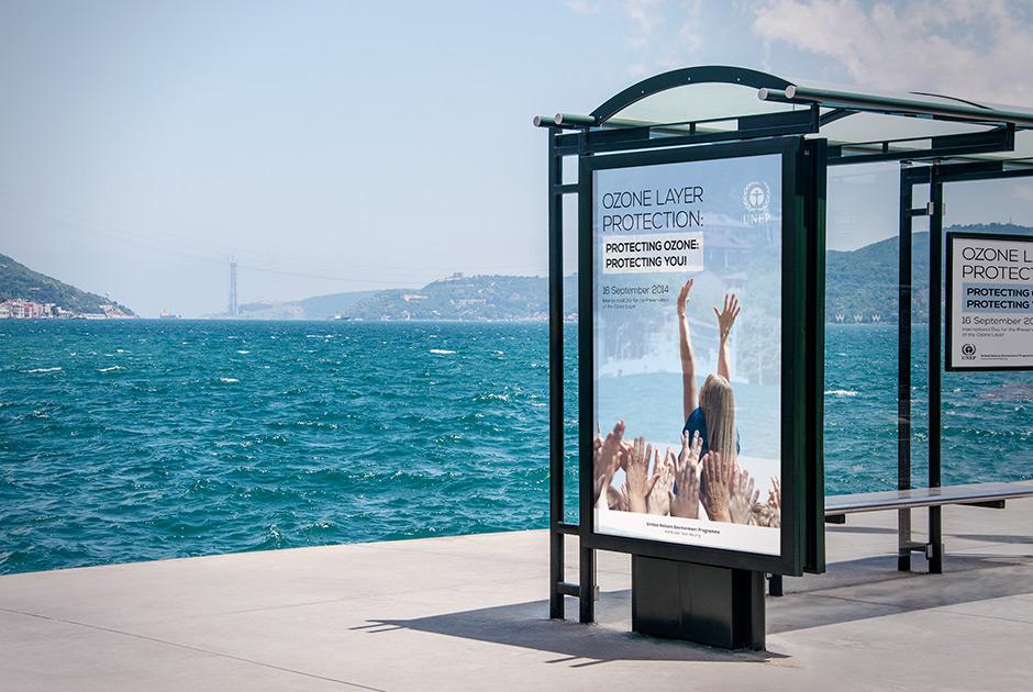 advertising design billboard poster