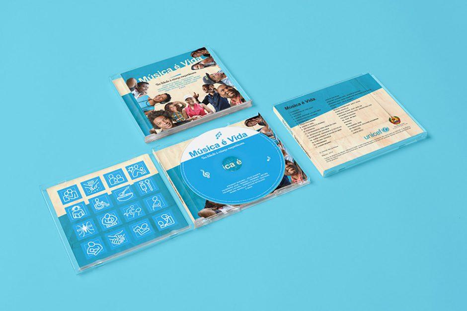 UNICEF event branding
