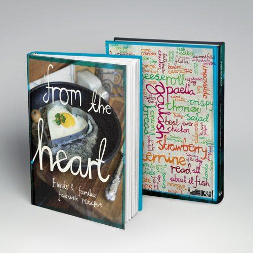 Cookbook design cover