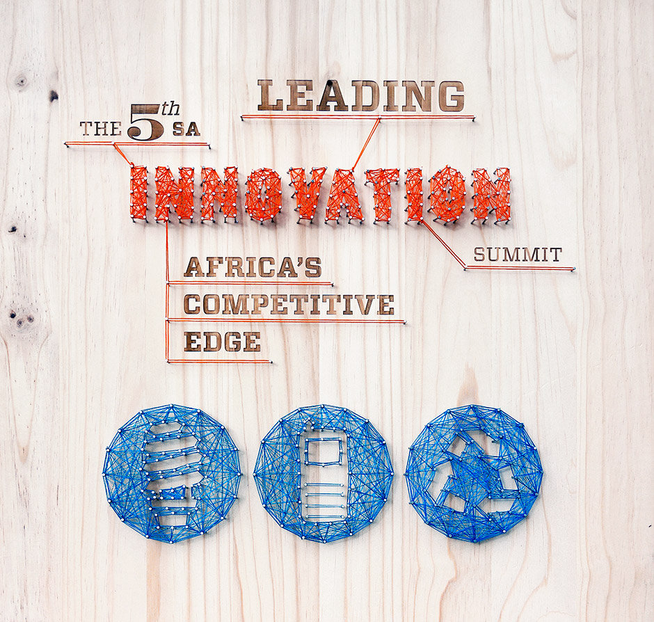 Innovation event branding