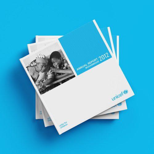 Unicef annual report design