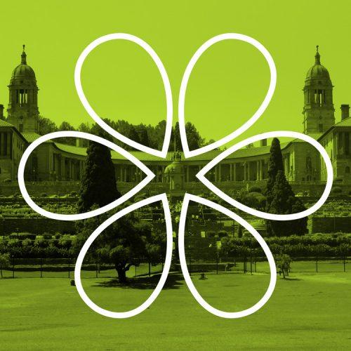 Tshwane green logo identity design