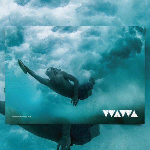 WAWA branding identity logo design