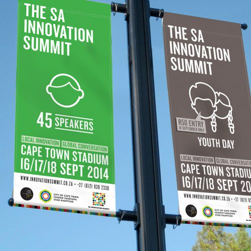 SA Innovation summit branding