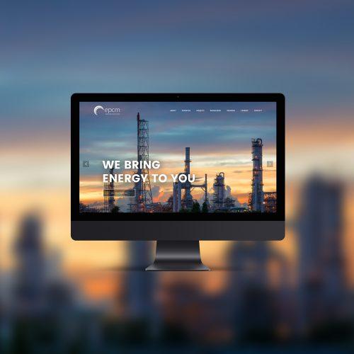 EPCM website design