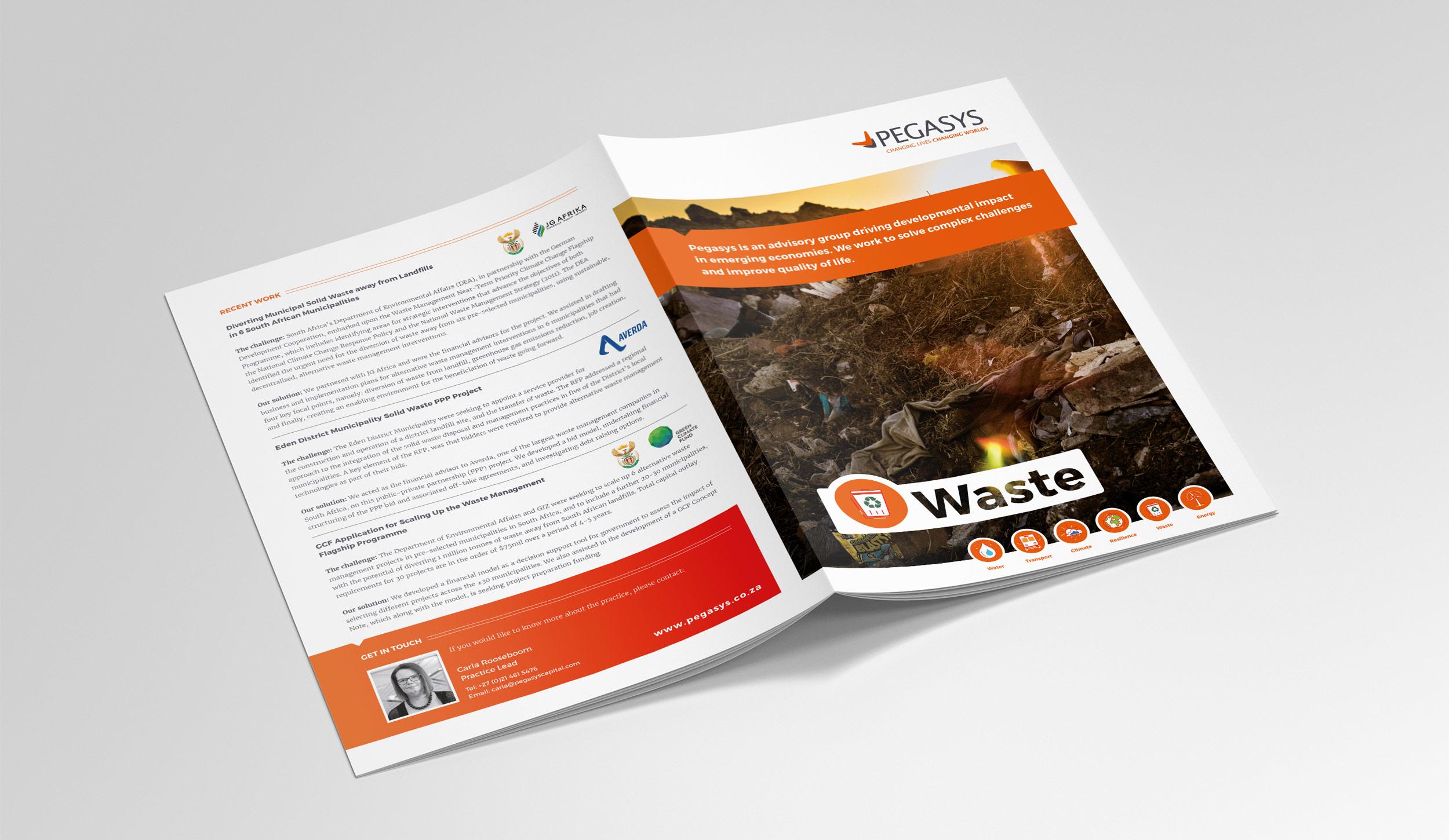 brochure layout design