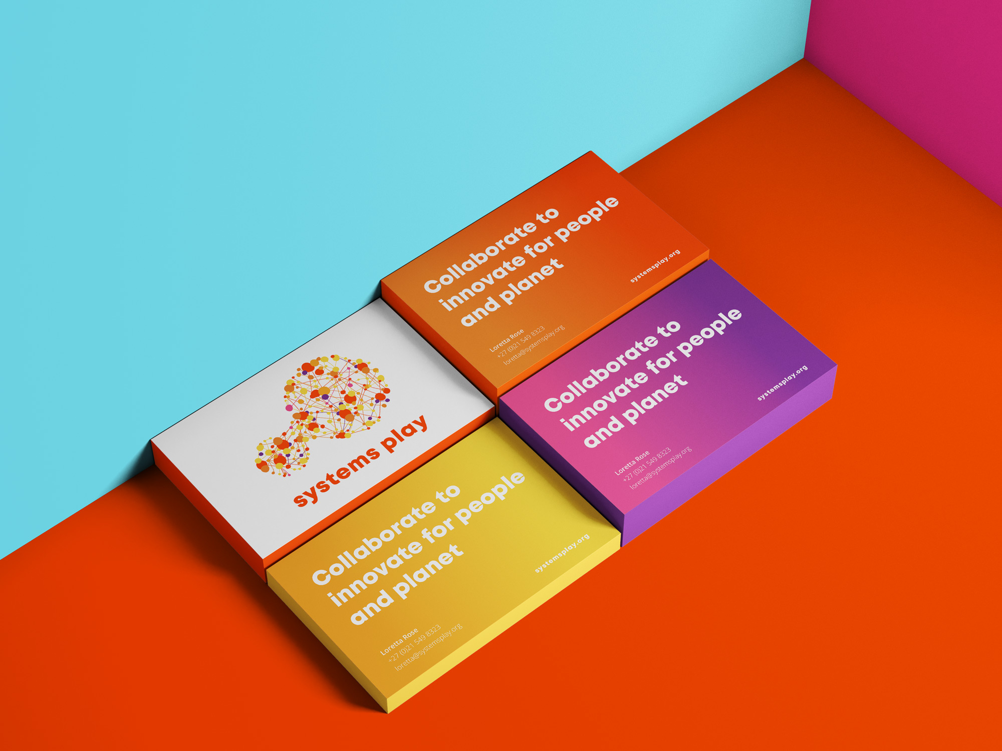 stationery design business card