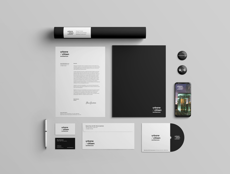 brand identity stationery design