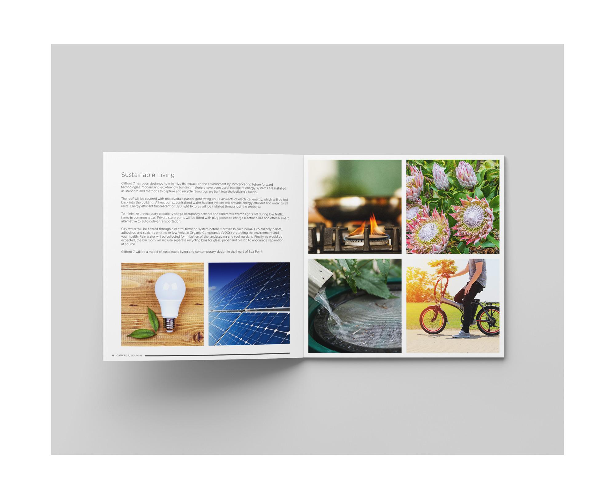 Urbane Citizen Architecture branding brochure