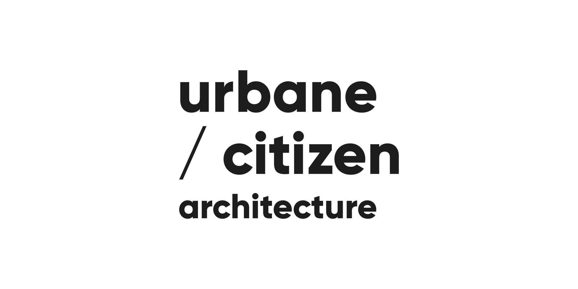 Urbane Citizen Architecture branding