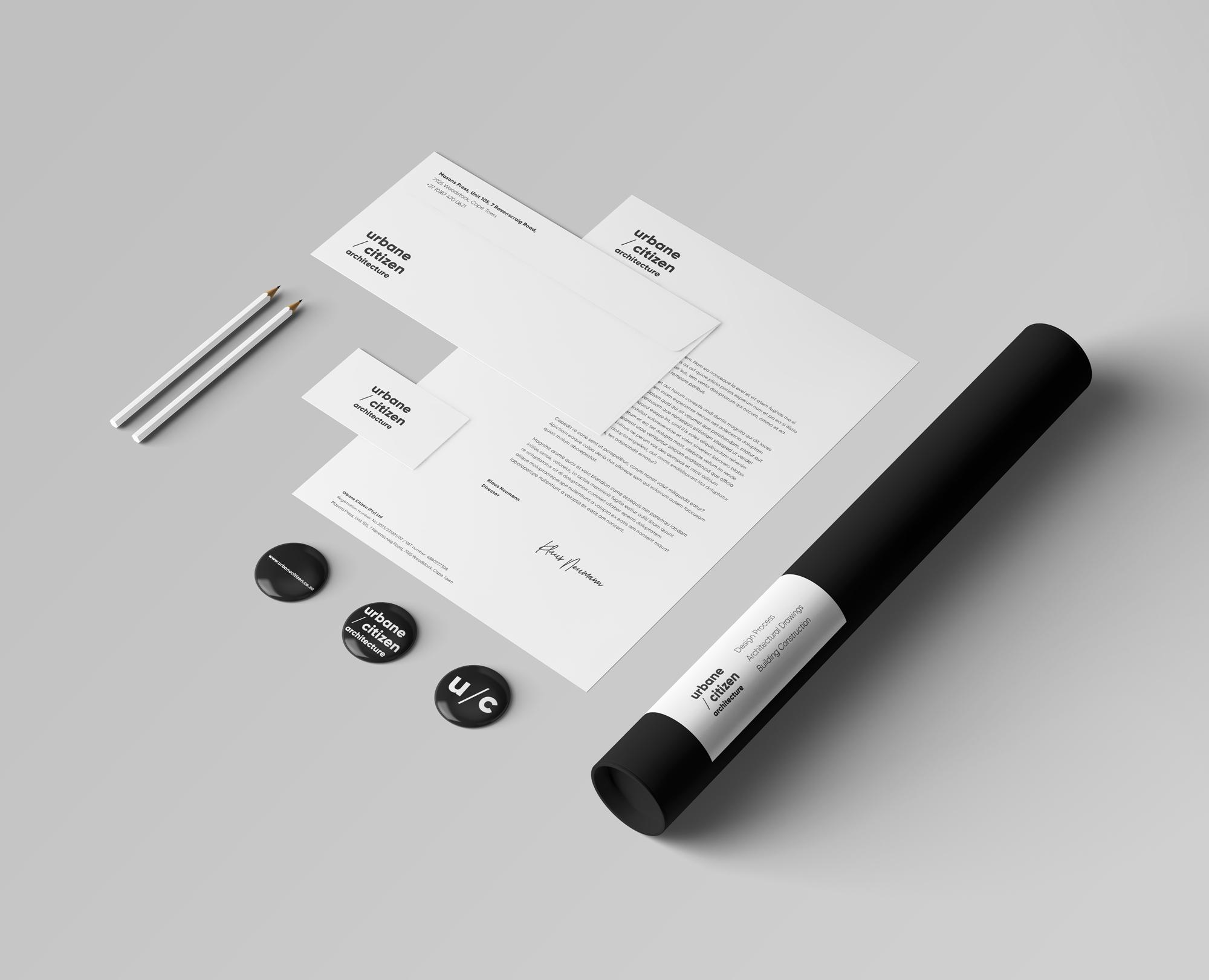 stationery design letterhead envelop