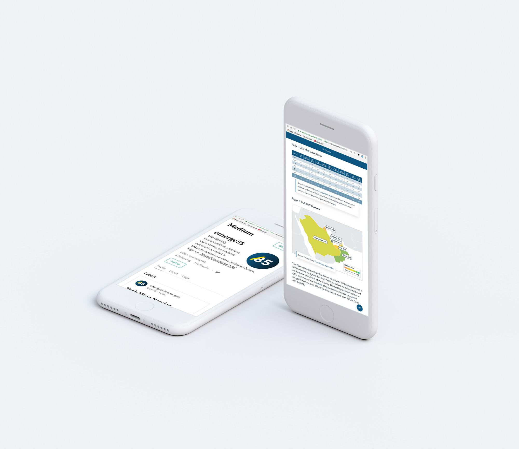 digital report information design