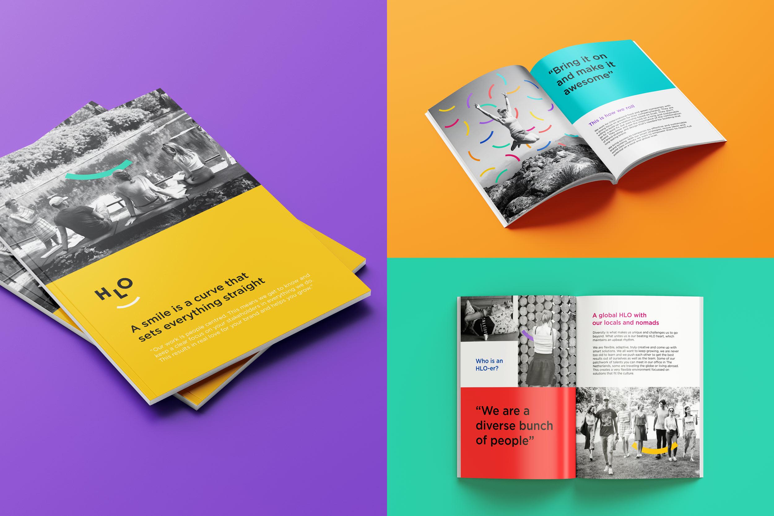 Rebranding a branding agency brochure design