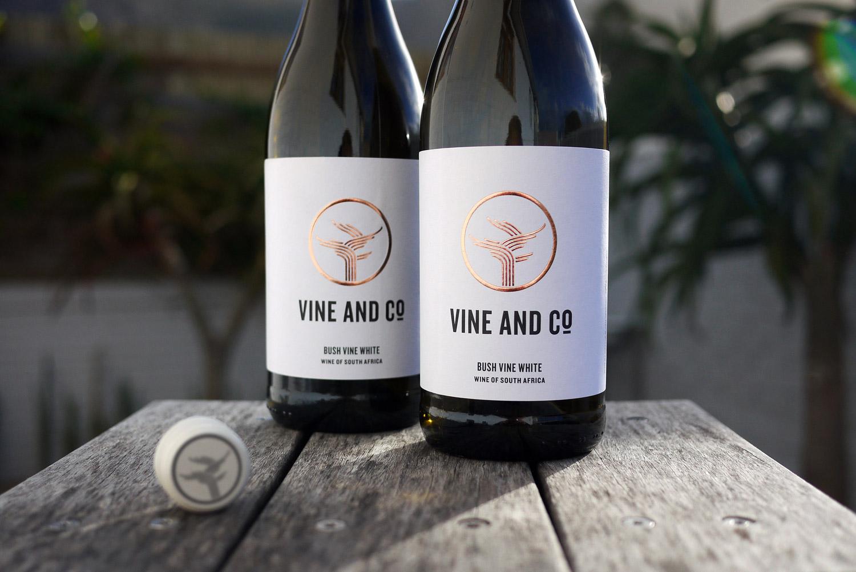 wine label design vine and co