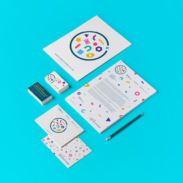 corporate identity design stationery