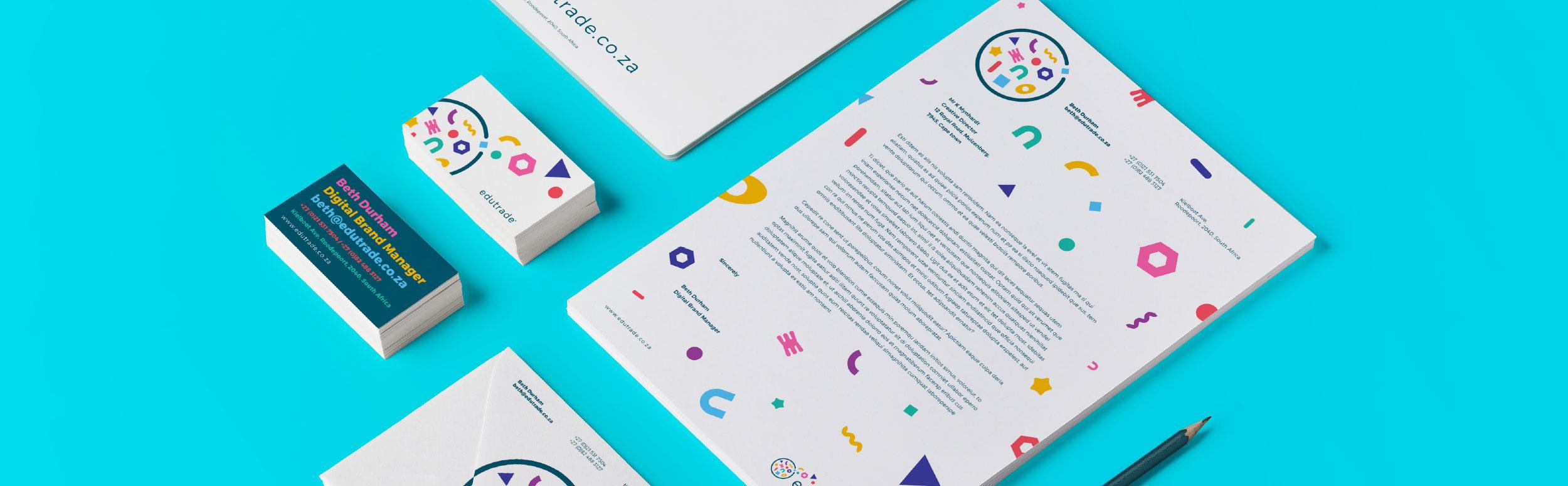 Corporate identity design elements