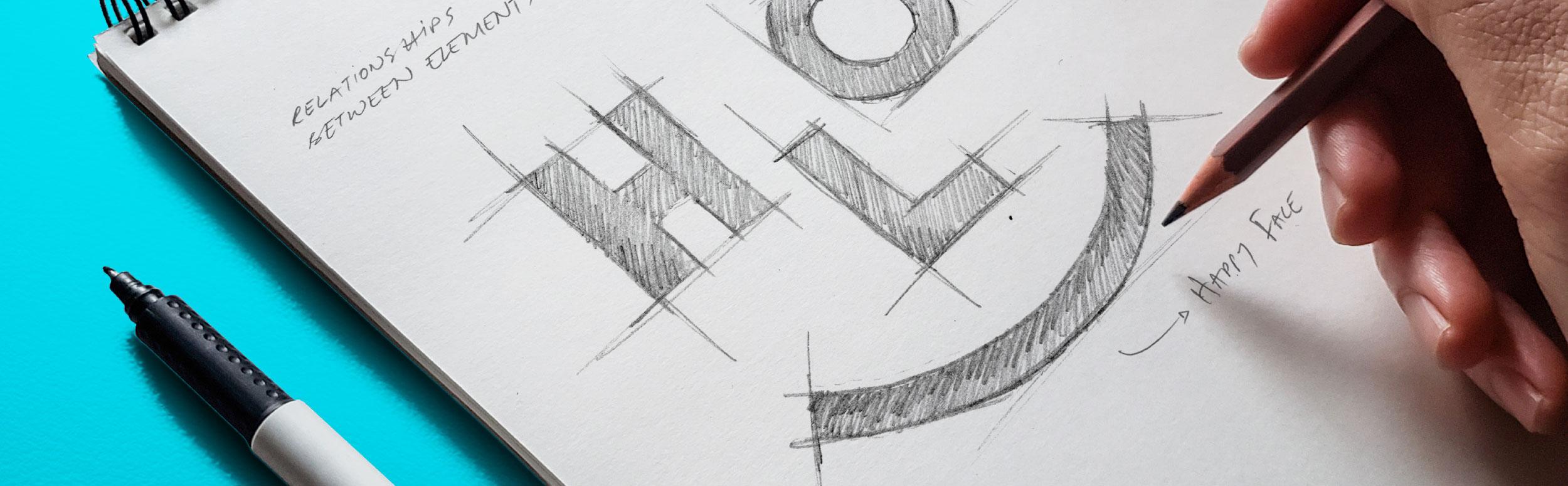 Logo development process – The work behind a logo