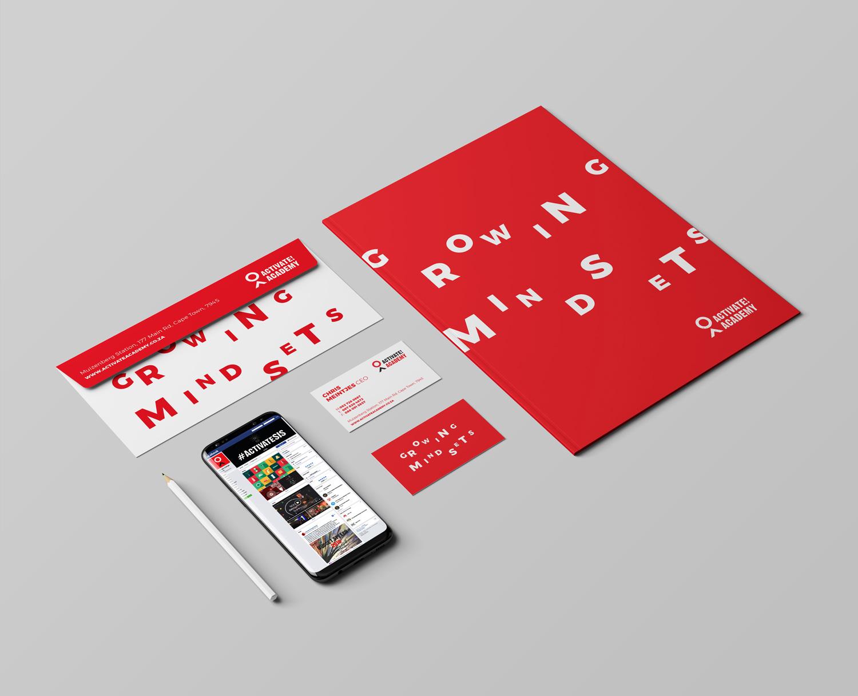 brand design identity stationery
