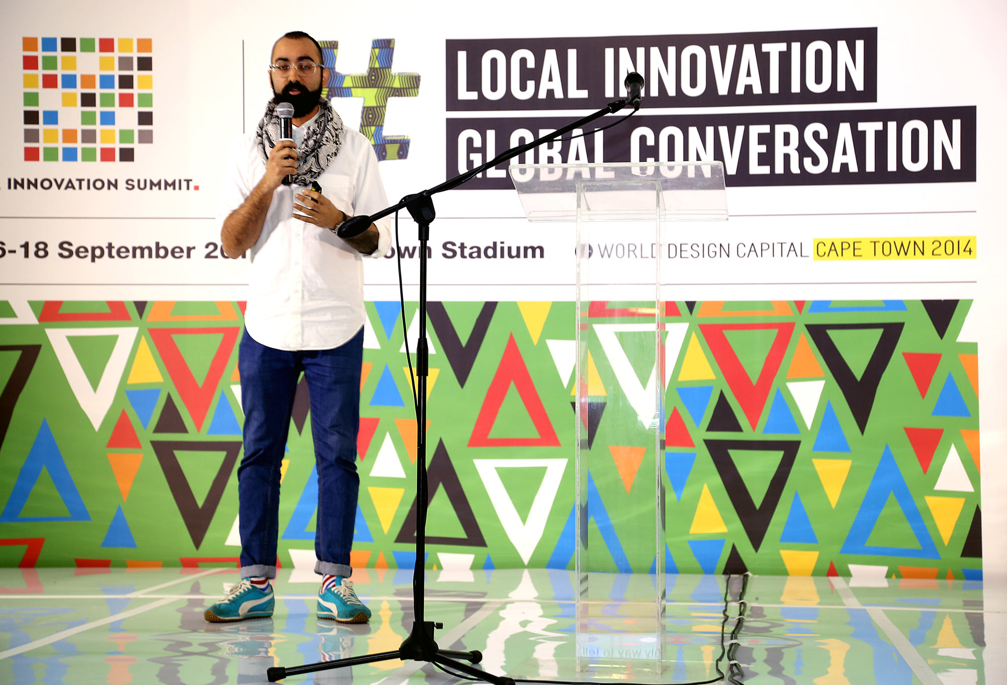 speaker at event creative direction